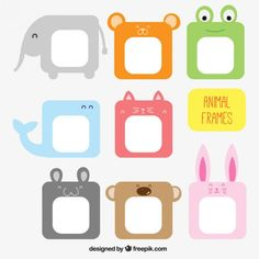 More than 3 millions free vectors, PSD, photos and free icons. Exclusive freebies and all graphic resources that you need for your projects Cool Paper Crafts, Diy And Crafts, Crafts For Kids, Eid Crafts, 1st Day Of School, Baby Album, Frame Crafts, Learning Colors, Classroom Themes