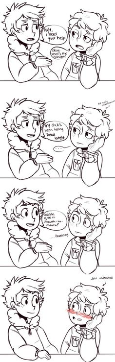 K2- Kenny being as smooth as ever<<dont rlly ship it but this is greatttt