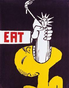 Tomi Ungerer 'Eat' (1967)