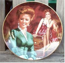 Miss Kitty Gunsmoke | franklin mint royal doulton gunsmoke miss kitty plate from australia