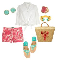 """Louisiana Crawfish Boil @ LSU!"" by southernpearlgir ❤ liked on Polyvore featuring Rivka Friedman, River Island, J.Crew, Aranáz, Julie Vos, Anne Sisteron and Jack Rogers"