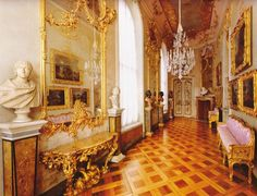 Potsdam, Germany. Schloss Sanssouci, Kleine Galerie