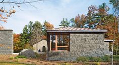 Savidge Library Complex, The MacDowell Colony | Architect Magazine | Tod Williams Billie Tsien Architects | Partners, Cultural, Institutional, New Construction, Renovation/Remodel, Modern, Cultural Projects, New Hampshire, Tod Williams, FAIA, Billie Tsien, AIA