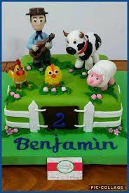 Resultado de imagen para tortas de las canciones de la granja Baking And Pastry, Figure Model, Cakes For Boys, Toy Chest, Happy Birthday, Baby Shower, Cupcakes, Ideas, Cakes