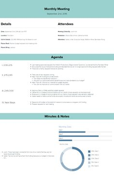 Basic Meeting Agenda Template With Time Schedule  Office
