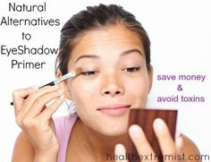 2 Easy DIY EyeShadow Primer Natural Alternatives = milk of magnesia or aloe vera gel!