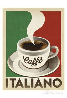 Cafe Italiano Posters by Anderson Design Group at AllPosters.com