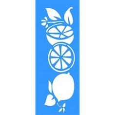 Stencil Limões 17x42 - OPA