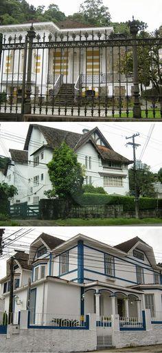 Arquiteturas de Petrópolis.
