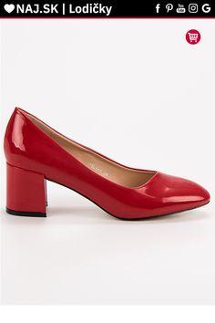 Lakované červené lodičky Diamantique Kitten Heels, Platform, Shoes, Fashion, Moda, Zapatos, Shoes Outlet, Fashion Styles, Shoe