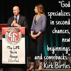 Kirk & Cassie Birtles explain that everyone fails--but only those that learn to lean in to their failures and learn from them will become truly successful. #TLYAW