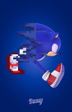 Pixel to 3D: Sonic - Hunwoo Choi
