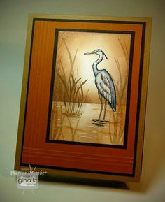 Crafting The Web: Heron in the Mist
