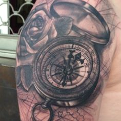 Compass < Vintage Tech Tattoos That Won't Ever Go Out of Style