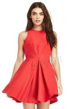 Stylish Round Neck Sleeveless Solid Color A-Line Women's Dress Dresses For Sale, Dresses Online, Dress Sale, Trendy Fashion, Womens Fashion, Retro Outfits, Dress Backs, Dress Me Up, Flare Dress