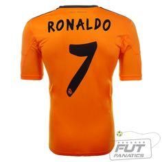 Camisa Adidas Real Madrid Third 2014 7 Ronaldo - Fut Fanatics - Compre Camisas de Futebol Originais Dos Melhores Times do Brasil e Europa - Futfanatics