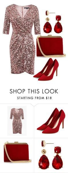 """""""Untitled #57"""" by wmaria ❤ liked on Polyvore featuring French Connection, Balmain and Liz Claiborne"""