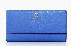 Kate Spade Southport Avenue Stacy Wallet Morning Glory. Free shipping and guaranteed authenticity on Kate Spade Southport Avenue Stacy Wallet Morning GloryWhat a gorgeous blue wallet from Kate Spade New Yo...