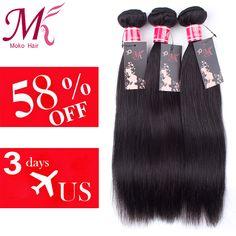 "$9.00 (Buy here: https://alitems.com/g/1e8d114494ebda23ff8b16525dc3e8/?i=5&ulp=https%3A%2F%2Fwww.aliexpress.com%2Fitem%2FIndian-Virgin-Hair-Straight-Human-Hair-Weaving-3bundles-6A-Grade-Unprocessed-Royal-Virgin-Indian-Hair-Extension%2F32383459139.html ) Brazilian Virgin Hair Straight 3 Bundles Mink Brazilian Hair Weave Bundles 7A Brazilian Straight Hair 8""-28""Human Hair Weave for just $9.00"