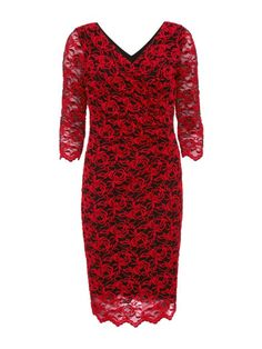 Gina Bacconi 3D Embroidered Net Dress. | dresslover.co.uk