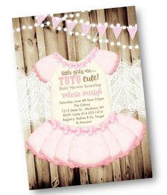 20 Best Tutu Invitations Images Ballerinas Invitations Ballerina