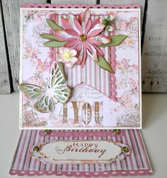 Crafting ideas from Sizzix UK: Pia Baunsgaard