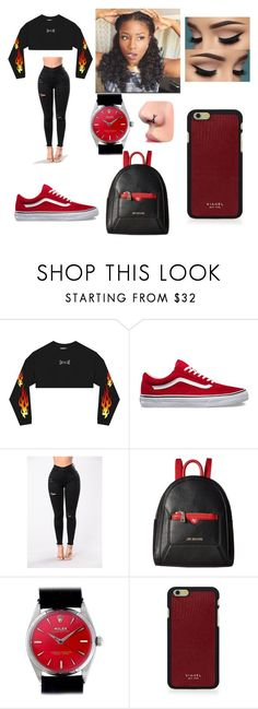 """""""Untitled #313"""" by askariwilson on Polyvore featuring Love Moschino, Rolex and Vianel"""