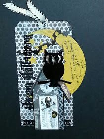 The Gentleman Crafter: CHA PROJECTS PART 2! Uses new Tim Holtz dies for Halloween
