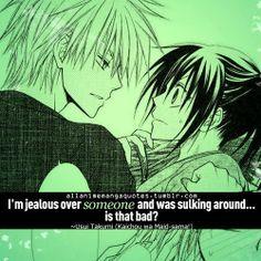 Takumi Usui - Kaichou wa Maid-sama!,Anime Quote