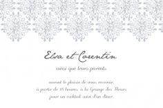 Carton d'invitation mariage Grâce by Mr Mrs Clynk pour www.rosemood.fr #dentelle #lace #wedding #invitation #mariage #clynk