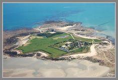 l'île de Tatihou. Cotentin. Normandie