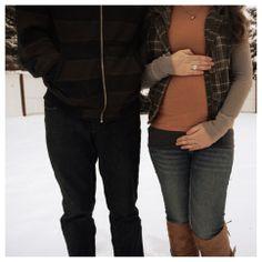 FIVE MONTHS!  #20weeks #babyonboard #babybump #maternity #fashion #pregnant #maternitystyle #pregnantoutfit #winterpregnancy #maternityfashion see more on my blog http://mybrittanystory.blogspot.com/2014/01/pregnancy-portfolio.html