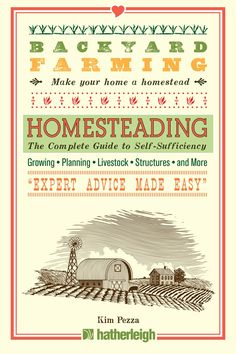 Backyard Farming: Homesteading is your all-in-one guide to successfully turning your rural property, suburban home, or urban dwelling into a productive food oasis. Covering every topic from finding and developing the perfect property, as well as which produce and livestock combinations are easiest to start with, Homesteading takes the anxiety and guesswork out of enjoying the backyard farming revolution.