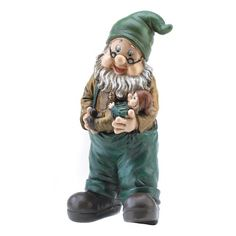 """Gifts & Decor Garden Grandpa Yard Gnome Outdoor Statue 10.6"""" (Discontinued by Manufacturer) Gifts & Decor http://smile.amazon.com/dp/B001H7V2IO/ref=cm_sw_r_pi_dp_-wmtwb0P1XTCK"""