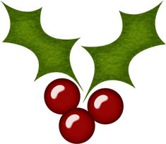 holly leaves and beries christmas misc illustrations rh pinterest com holly leaves clipart free holly leaves clipart