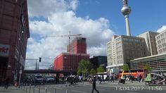 Mitte, der Hotelneubau in der Grunerstraße am Alex geht seiner Vollendung entgegen