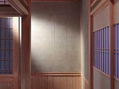 和室に暖かい土壁の雰囲気。和モダンな空間づくりをしたい時にもいい(エコカラット/LIXIL) Divider, Room, Furniture, Home Decor, Bedroom, Decoration Home, Room Decor, Rooms, Home Furnishings