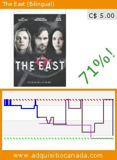 The East (Bilingual) (DVD). Drop 71%! Current price C$ 5.00, the previous price was C$ 16.98. http://www.adquisitiocanada.com/20th-century-fox-home/east-bilingual