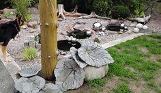 Moderne und inspirierende Gartendeko aus Beton - fresHouse