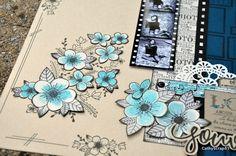 feutre-cathy-3 Pose, Scrapbooking, Fedoras, Birthdays, Draw, Cards, Scrapbooks, Memory Books, Scrapbook