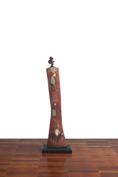 S/T   Nino (João Cosmo Felix) s.d. Escultura em Madeira 134 x 40 x 23 cm (…
