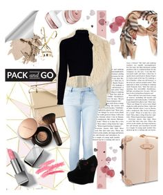 """""""Pack and Go"""" by atlanta-j ❤ liked on Polyvore featuring Beats by Dr. Dre, Burberry, M2Malletier, Bobbi Brown Cosmetics, River Island, Jack Wills, Witchery, Forever Link, Globe-Trotter and Nude by Nature"""