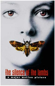 Silence of the Lambs Death's Head Moth Movie Poster 11x17