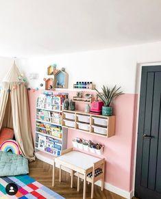 Playroom Design, Playroom Decor, Kids Room Design, Playroom Ideas, Colecho Ideas, Trofast Ikea, Ikea Kids Room, Ikea Kids Table, Toddler Playroom