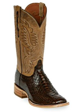 Snake/Snakeskin Boots Style 609 Custom-Made by Black Jack Boots