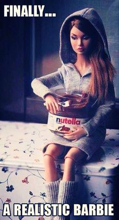 Finally a Barbie I can relate to