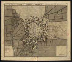CC_1115_A  - Daniel MEYER (1671-1710) «Plan de la ville et chateau, de Bethune, assiegée par les allies». [Amesterdão] : Chez Nicolas Visscher, avec privil.,, [ca 1710]. Gravura ; matriz: 49x58cm, em folha de 54x62,50 cm. Cota BNP C.C. 1115 A. Disponível em: http://purl.pt/3658