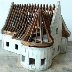 Artist model of French Chateau....  I'd love to have this in my decor'.