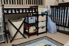 Cloth Diaper Storage - The Accidental Wallflower- order to the nth degree