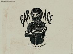 "New work available for sale ""GARAGE"" illustration made by STYLOGRAPHIC - Danilo De Donno - www.danilodedonno... © ALL RIGHT RESERVED #garage #design #caferacer #motorcycles #moto #motor #bike #graphicdesign #typography #vintage #caferace #race #biker #graphic #motorbike #rider #tshirt #print #tees"